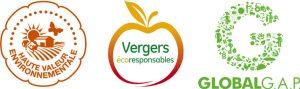 Les certifications des Vergers Marcel