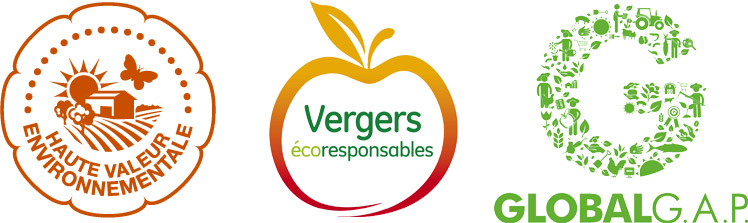 Certifications des Vergers Marcel